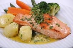 να δειπνήσει λεπτό πιάτο γ&ep Στοκ φωτογραφία με δικαίωμα ελεύθερης χρήσης