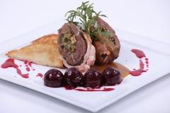 να δειπνήσει λεπτό πιάτο γ&ep Στοκ εικόνα με δικαίωμα ελεύθερης χρήσης