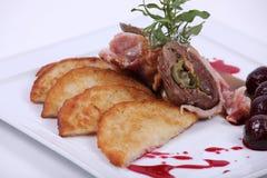 να δειπνήσει λεπτό πιάτο γ&ep Στοκ φωτογραφίες με δικαίωμα ελεύθερης χρήσης