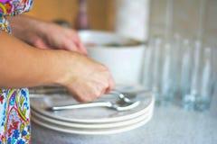 να δειπνήσει πίνακας Στοκ Φωτογραφία