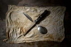 να δειπνήσει παλαιά θέματ&alpha Στοκ Εικόνες