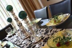 να δειπνήσει ρύθμισης πίνα&kap Στοκ εικόνες με δικαίωμα ελεύθερης χρήσης