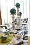 να δειπνήσει ρύθμισης πίνα&kap Στοκ Φωτογραφία