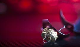 Να δει το κόκκινο κατά τη διάρκεια των διακοπών Στοκ φωτογραφία με δικαίωμα ελεύθερης χρήσης