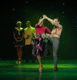 Να είστε ακριβώς τέλειος ο ρυθμός-παγκόσμιος χορός της Αυστρίας Στοκ Εικόνες
