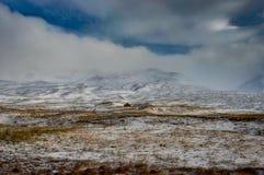 να είστε απολύτως ευτυχής ακούει το ι εάν τα βουνά εικόνας ευχαριστούν χρησιμοποιημένος όπου ο χειμώνας εσείς Τοπίο Χριστουγέννων Στοκ φωτογραφία με δικαίωμα ελεύθερης χρήσης