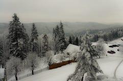 να είστε απολύτως ευτυχής ακούει το ι εάν τα βουνά εικόνας ευχαριστούν χρησιμοποιημένος όπου ο χειμώνας εσείς Στοκ Φωτογραφίες