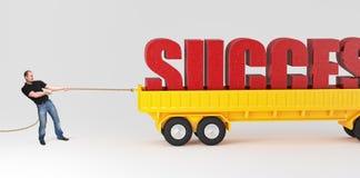 να είστε ισχυρή επιτυχία Στοκ Εικόνα