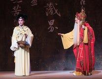 """Να είστε καλός στο δόσιμο συστηματικό το καθοδήγηση-δεύτερο πράξη-Kunqu Opera""""Madame άσπρο Snake† Στοκ Εικόνα"""