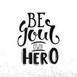 Να είστε ο ήρωας σας Στοκ Εικόνες