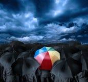 Να είστε διαφορετικός επιχειρηματίας Στοκ Φωτογραφίες