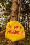 Να λείψει βοήθειας ανάγνωσης σημαδιών Στοκ Εικόνα