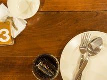να δειπνήσει πίνακας Στοκ Φωτογραφίες