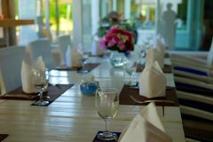 να δειπνήσει πρόστιμο Στοκ Εικόνες