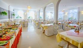 να δειπνήσει δωμάτιο ξεν&omicro Στοκ Φωτογραφία
