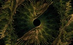 Να δει fractal ματιών Στοκ φωτογραφίες με δικαίωμα ελεύθερης χρήσης