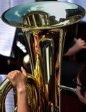 Να ενσωματώσει ένα tuba Στοκ Φωτογραφίες