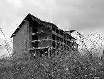 Να ενσωματώσει τις καταστροφές Στοκ φωτογραφία με δικαίωμα ελεύθερης χρήσης