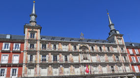 Να ενσωματώσει το δήμαρχο Plaza στη Μαδρίτη Στοκ Εικόνες