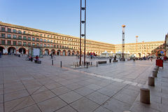 Να ενσωματώσει Plaza του Corredera στην Κόρδοβα, Ανδαλουσία, Στοκ Εικόνα