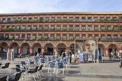 Να ενσωματώσει Plaza του Corredera Στοκ εικόνα με δικαίωμα ελεύθερης χρήσης