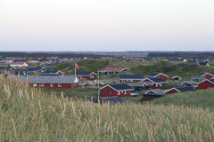 Να εξισώσει πέρα από μια Κοινότητα Summerhouse Στοκ Εικόνα
