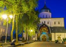 Να εξισώσει σε Pochaev Lavra Στοκ Φωτογραφίες