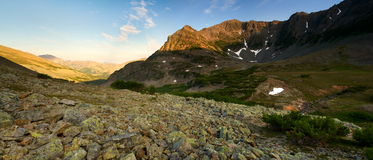 Να εξισώσει στα βουνά Στοκ φωτογραφίες με δικαίωμα ελεύθερης χρήσης