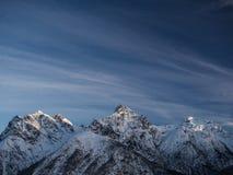 Να εξισώσει στα βουνά Στοκ Εικόνες