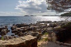 Να εξισώσει στην Αδριατική Στοκ φωτογραφία με δικαίωμα ελεύθερης χρήσης