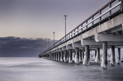Να εξισώσει στη θάλασσα παγώματος Βαλτικές Χώρες στοκ φωτογραφία με δικαίωμα ελεύθερης χρήσης