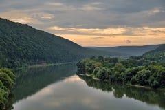 Να εξισώσει στον ποταμό Dniester Στοκ εικόνες με δικαίωμα ελεύθερης χρήσης