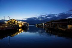 Να εξισώσει στο λιμάνι Στοκ Φωτογραφίες