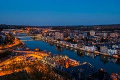 Να εξισώσει στο Ναμούρ Στοκ Φωτογραφίες