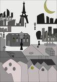 Να εξισώσει στο Παρίσι Στοκ Εικόνα