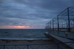 Να εξισώσει την παραλία Στοκ εικόνες με δικαίωμα ελεύθερης χρήσης