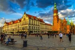 Να εξισώσει τον περίπατο σε Wroclaw, Σιλεσία, Πολωνία Στοκ Φωτογραφία