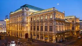 Να εξισώσει hyperlapse της όπερας της Βιέννης απόθεμα βίντεο