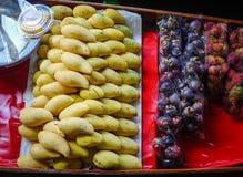 Να επιπλεύσει αγορά στη Μπανγκόκ, Ταϊλάνδη Στοκ Φωτογραφία