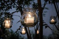 να επιπλεύσει κεριών Στοκ εικόνα με δικαίωμα ελεύθερης χρήσης