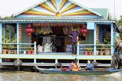 να επιπλεύσει της Καμπότζης αγορά στοκ εικόνες με δικαίωμα ελεύθερης χρήσης