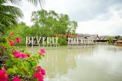 Να επιπλεύσει Pattaya η αγορά είναι δημοφιλής προορισμός ταξιδιού σε Pattaya Στοκ φωτογραφία με δικαίωμα ελεύθερης χρήσης