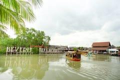 Να επιπλεύσει Pattaya η αγορά είναι δημοφιλής προορισμός ταξιδιού σε Pattaya Στοκ εικόνα με δικαίωμα ελεύθερης χρήσης