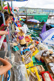 Να επιπλεύσει αγορά θαλασσινών σε Sai Kung, Χονγκ Κονγκ Στοκ Εικόνες