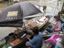 Να επιπλεύσει αγορά Ampawa, Ταϊλάνδη Στοκ εικόνα με δικαίωμα ελεύθερης χρήσης