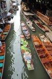 Να επιπλεύσει αγορά, Damnoen Saduak, Ταϊλάνδη Στοκ φωτογραφίες με δικαίωμα ελεύθερης χρήσης