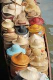 Να επιπλεύσει αγορά, Damnoen Saduak, Ταϊλάνδη Στοκ Φωτογραφία