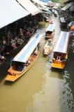 Να επιπλεύσει αγορά, Damnoen Saduak, Ταϊλάνδη Στοκ φωτογραφία με δικαίωμα ελεύθερης χρήσης