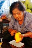 να επιπλεύσει η αγορά saduak στοκ φωτογραφία με δικαίωμα ελεύθερης χρήσης