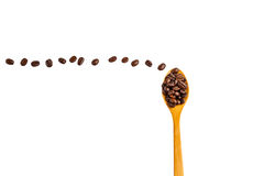 Να επιπλεύσει καφέ Στοκ Εικόνα